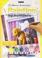 Royal-Brush JR PBN Small Window Watching Paint By Number Kit #pjs65