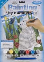Royal-Brush Jr PBN Kittens & Butterflies 8-3/4x11-3/4 Paint By Number Kit #pjs7