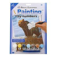 Royal-Brush PBN JR Small Griz Paint By Number Kit #pjs82