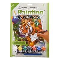 Royal-Brush PBN JR Small On The Prowl Paint By Number Kit #pjs84