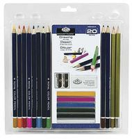 Royal-Brush Drawing Clamshell Drawing Kit #rart-2003
