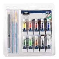 Royal-Brush Acrylic Painting Clamshell Paint By Number Kit #rart-2004