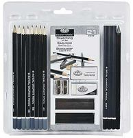 Royal-Brush 21 Piece Sketching Set Drawing Kit #rart-200