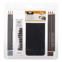 Royal-Brush 3-Pastel Pencil w/Sketchbook Drawing Kit #rart-2107