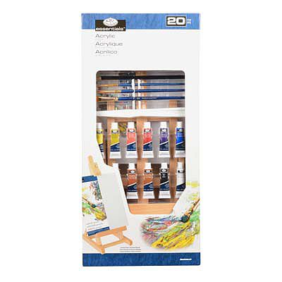 Royal Brush Manufacturing SM ''H'' Easel Acrylic Painting -- Paint By Number Kit -- #rea5304