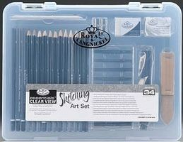 Royal-Brush Small Clear View Sketching Set Drawing Kit #rset-art3105
