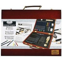 Royal-Brush Sketch/Drawing Wooden Box Art Set Drawing Kit #rset-ds2030