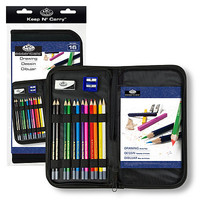 Royal-Brush Keep N Carry Drawing Set Drawing Kit #rset-kcds