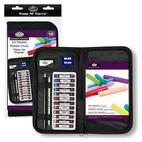 Royal-Brush Keep N Carry Oil Pastel Set Painting Kit #rset-kcops