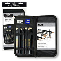 Royal-Brush Keep N Carry Sketching Set Drawing Kit #rset-kcss