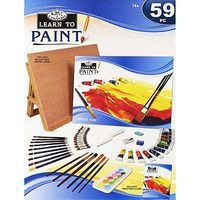 Royal-Brush Learn To Paint Paint By Number Kit #rset-lt101