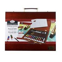 Royal-Brush Watercolor Painting Wooden Box Art Set Watercolor Paint #rset-wat2030