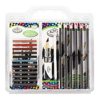 Royal-Brush Sketch Pencil Clamshell Drawing Kit #rtn-149