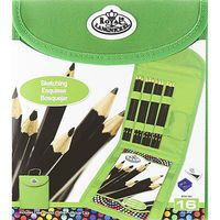 Royal-Brush Sketching Square KNC Drawing Kit #rtn-164