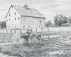 Royal-Brush Sketch Easy Country Wagon Drawing Kit #skbn11