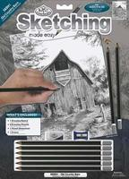 Royal-Brush Sketching Made Easy Old Country Barn 9x12