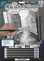 Royal-Brush Sketching Made Easy Venice Bridge 9x12 Drawing Kit #skbn3