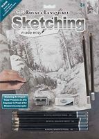 Royal-Brush Sketch Easy Shadow Lake Drawing Kit #skbn6