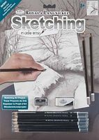 Royal-Brush Sketch Easy Winter Creek Drawing Kit #skbn7