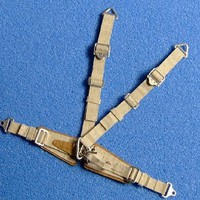 RB 1/32 WWI-II Luftwaffe Standard Seatbelts Beige (Pre-Cut Paper/Photo-Etch)