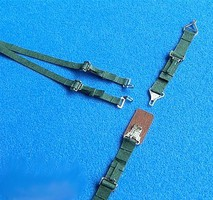 RB 1/32 WWII US Seatbelts Green Pre-Cut Paper/Photo-Etch)