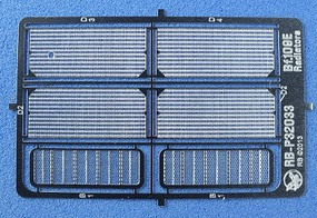 RB 1/32 Bf109E Radiators (Photo-Etch) (D)