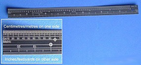 RB 1/32 Scale Ruler, Stainless Steel