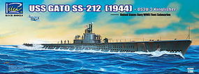 Rich USS GATO SS-212 Fleet Submarine Plastic Model Military Ship Kit 1/200 Scale #20002