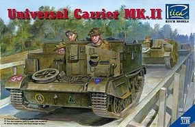 Rich Universal Carrier Mk.II Plastic Model Military Vehicle Kit 1/35 Scale #35027