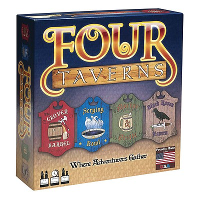 Rather Dashing Games Four Taverns