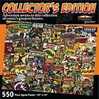Rainy-Day Collectors Edition Comic Books Collage Puzzle (550pc)