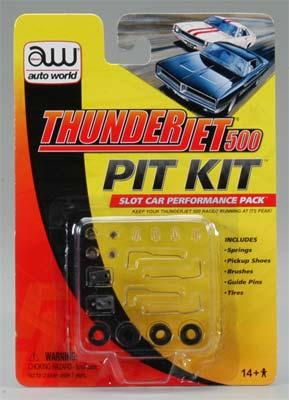 Round2 Thunderjet Pit Kit HO Scale Slot Car Part #00103
