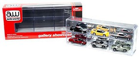 Round2 1/64 Six Car Interlocking Display Case