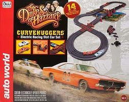 Round2 Dukes of Hazzard Race Set w/Jumps 10