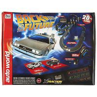 Round2 Back to the Future Slot Race Set 14 HO Scale Slot Car Set #srs297