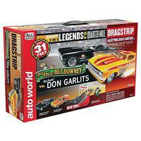 Round2 Legends Quarter Mile Drag Set 13 HO Scale Slot Car Set #srs308