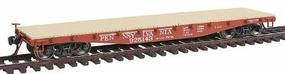 Red-Caboose 4210 Fishbelly Side Sill Flatcar Pennsylvania (Tuscan) HO Scale Model Railroad #32308
