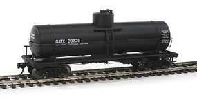Red-Caboose GATX 10,000 Gallon Tank (Black) HO Scale Model Train Freight Car #33017