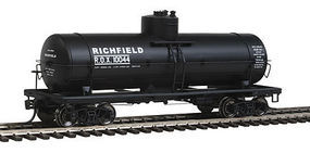 Red-Caboose Richfield 10,000-Gallon Tank Car HO Scale Model Train Freight Car #33019