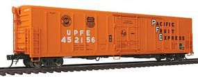Red-Caboose Pacific Fruit Express UPFE 57 Mechanical Reefer HO Scale Model Train Car #34755