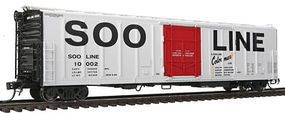 Red-Caboose Soo Line 57 Mechanical Reefer HO Scale Model Train Car #34807