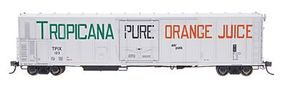 Red-Caboose Tropicana Orange Juice (1970) 57 Mechanical Reefer HO Scale Model Train Car #34810