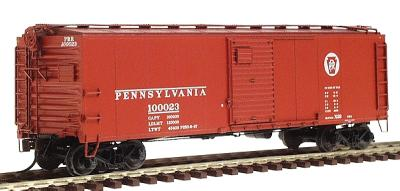 Red Caboose Pennsylvania Railroad X-29 Boxcar w/Dreadnaught Ends -- HO Scale Model Train Car -- #37066