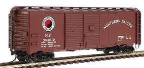 Red-Caboose Northern Pacific 1937 AAR Double-Door Boxcar HO Scale Model Train Freight Car #38529