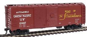 Red-Caboose Union Pacific 1937 AAR Double-Door Boxcar HO Scale Model Train Freight Car #38540