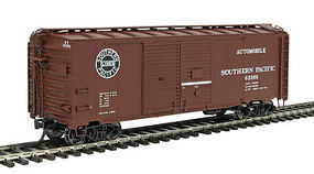 Red-Caboose 1937 AAR Double-Door Boxcar (Ready to Run) SP HO Scale Model Train Freight Car #38576