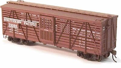 Red Caboose S-40-5 Stock Car (Ready to Run) Southern Pacific Kit -- HO Scale Model Railroad -- #39002