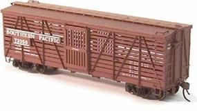 Red-Caboose S-40-5 Stock Car (Ready to Run) Southern Pacific Kit HO Scale Model Railroad #39002