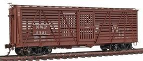 Red-Caboose S-40-5 Stock Cars NWP - HO-Scale