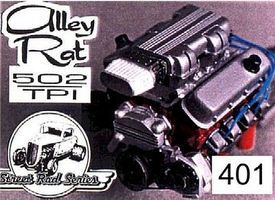Ross-Gibson Alley Rat 502 TPI Street Rod Engine Plastic Model Engine Kit 1/25 Scale #401